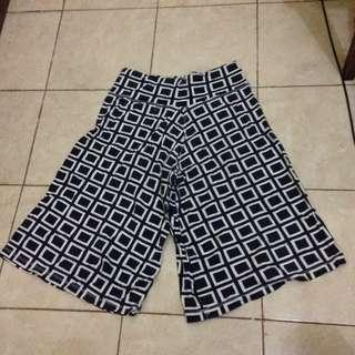 kulot pants patterned / celana kulot