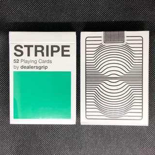[Rare] dealersgrip Stripe Playing Cards 啤牌 撲克牌