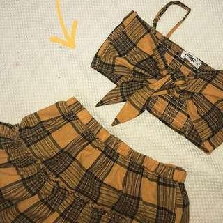 plad clothing set