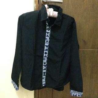 black shirt / kemeja hitam
