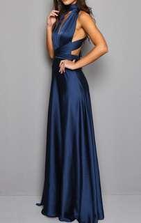 BNWT Criss Cross Back Maxi Dress