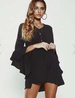BNWT Ruffle Sleeve Dress