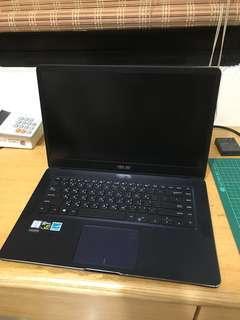 """ASUS UX550V 15.6"""" 藍"""
