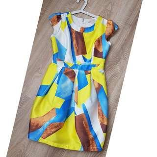 Moscato Abstract Dress