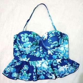 Swimsuit Top Peplum Bikini