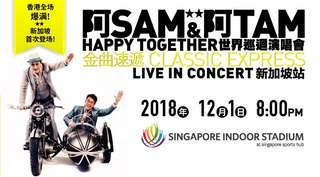 Sam & Tam Happy Together World Tour Singapore Tickets for sale