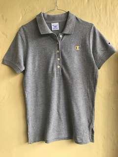 Preloved Champion x Jeanasis athletic basic Polo shirt