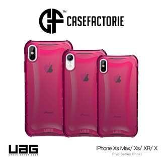 UAG Plyo Case Pink for iPhone XR, Xs/ X, Xs Max