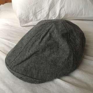 🚚 正韓全新 條紋報童帽