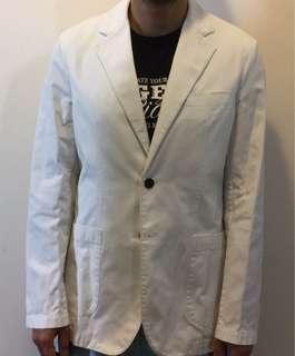 Esprit Collection , white suit. Esprit 白色西裝, never use .