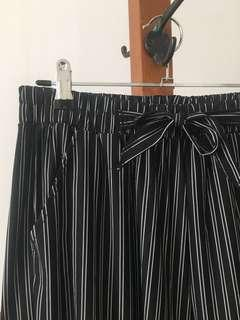 BNWT Striped Culottes - Size 12