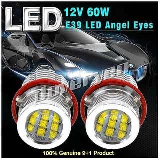 E39 Bmw Angel Eyes White 6500k Canbus Marker Led 100% Genuine XBD Cree led Chips x 12 leds 60w 2600 Lumens Per Bulb For E39 E53 X5 E60 E61 E63 E64 E65 E66 E83 X3 E87                                     Click READ MORE For More Details