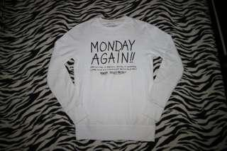 Sweatshirt Pull&Bear Monday Again.