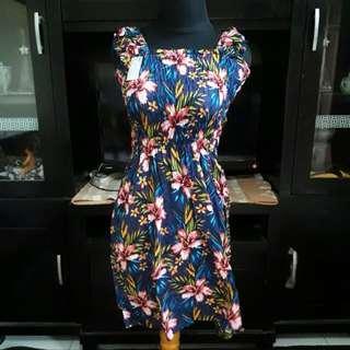 Midi Dress Bali Kerut (2)