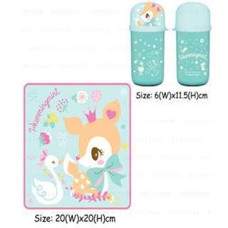 Sanrio Hummingmint 2 towels set 小鹿毛巾套裝