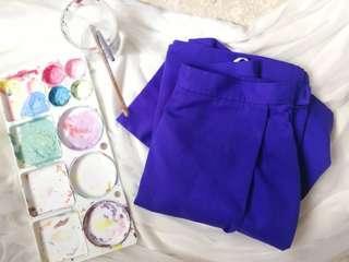 Vintage Purple Highwaist Skorts