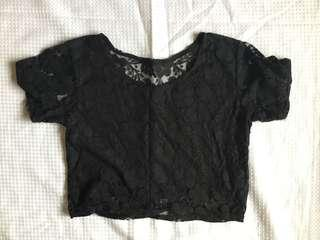 Cute Lace crop top