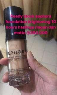 Foundation brightening matte sephora