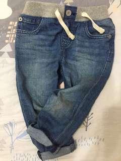 GAP窄管牛仔褲