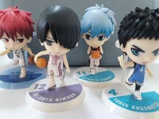 Kuroko No Basket Figurines