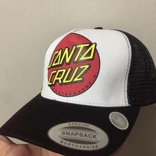 Santa Cruz Streetwear Skateboarding Trucker Net Cap