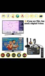 🚚 New! 2018 DVB-T2 Digital TV set up Box Singapore with Digital Antenna