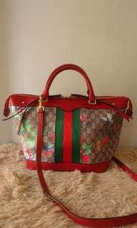 Gucci medium red tote