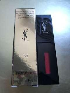 💯% 🆕 YSL Glossy Stain # 402 Now $180 包平郵