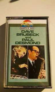 Dave brubeck & Paul desmond - cassette