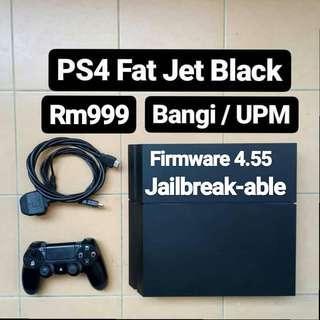 [Used] PS4 Fat Firmware 4.55 500GB Jailbreak Jb
