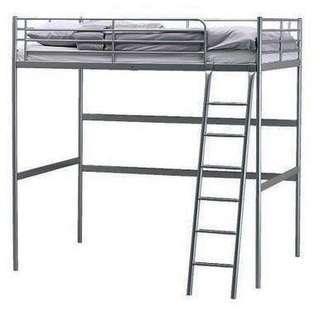 Ikea Tromso Loft Bed frame only - Double
