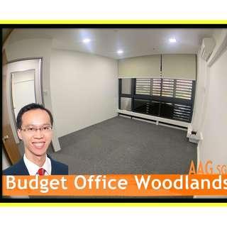 Budget Office for Rent! Window unit. Ideal for 2-3pax. Woodlands / Admiralty.