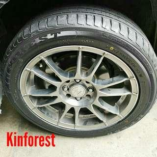 Tyre- Kinforest. Hyundai i30 🙋‍♂️ R16 sizes from $80