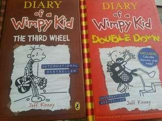 Diary Of A Wimpy Kid Hardcover Books