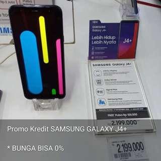 Promo Kredit Samsung Galaxy J4+. Bunga bisa 0%
