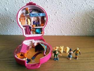 絕版全新1995 鐘樓駝俠 迪士尼 Disney Tiny Collection Bluebird Polly Pocket vtg
