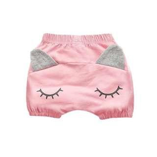 🚚 Blink Eye with Little Ear Casual Short Pant for Baby (NCP 007)