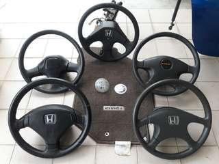 Honda Steering Wheel Mix