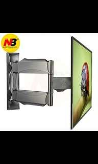 NB P4 TV Wall Mount 32-55 inch LCD Monitor Holder Swivel Stretchable Tilt Stands Cantilever Arm TV Hang Bracket