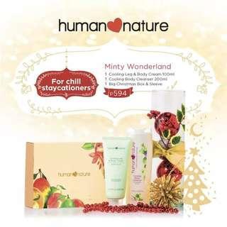 Human Nature Minty Wonderland Gift Set