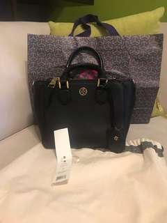 tory burch robinson double zip small