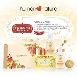 Human Nature Citrus Cheer Gift Set