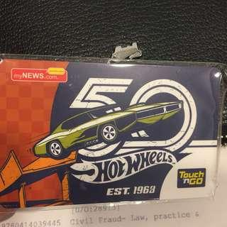 50 Years Hot Wheels Limited edition - Touch n Go card