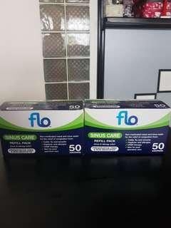 FLO sinus care refill pack 50 sachets