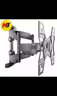 """32-70"""" retractable lcd tv wall mount with plastic cover swivel screen bracket stand plasma holder"""