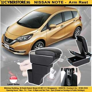 Nissan Note Arm Rest- Built-in 7 USB Ports