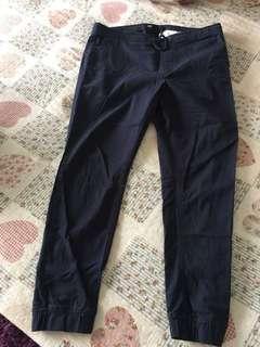 Jogger blue pants