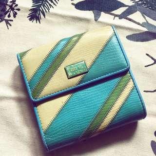 🚚 日本製 Anna sui 皮夾 短夾 財布