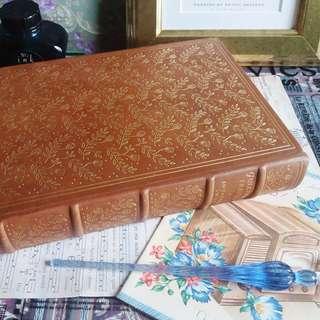 ✨ Franklin Library 古董叢書 🌾 Gulliver's Travels 格列佛遊記 ✨ Jonathan Swift【Year Printed 1974】