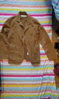 Izzue light brown jacket - cheap & used sz 2